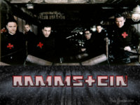 Rammstein Black Wallpaper