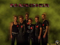 Rammstein Green Wallpaper