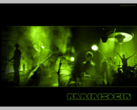 Rammstein Group Green Wallpaper