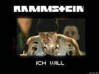 Rammstein Ichwill Black Wallpaper