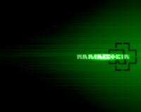 Rammstein Matrixgreen Wallpaper