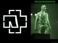 Rammstein Till Green Wallpaper