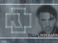 Rammstein Till Silver Wallpaper