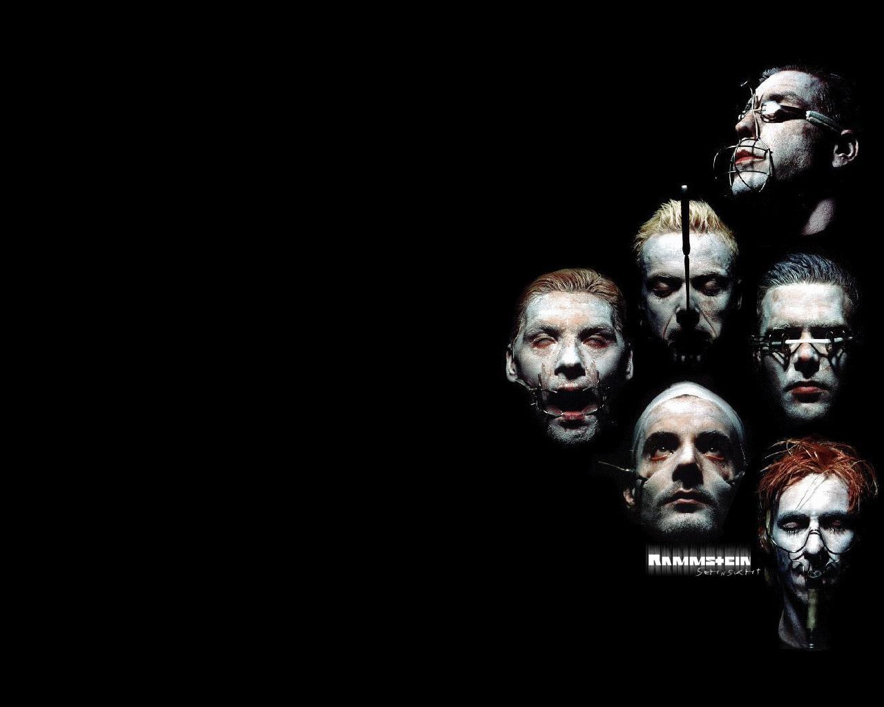 Rammstein Deadhead Right Wallpaper