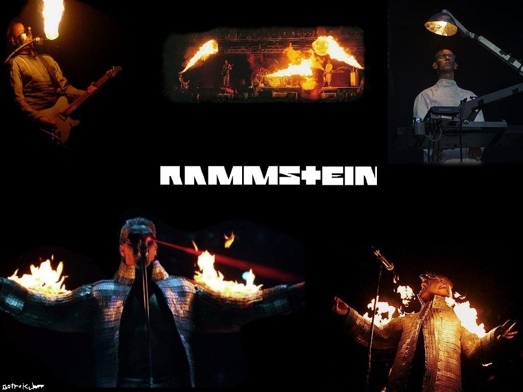 Rammstein Fireman Wallpaper