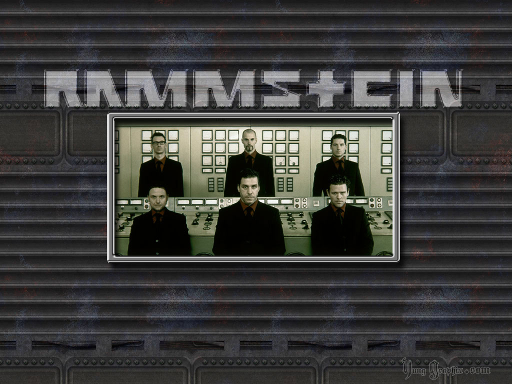 Rammstein Gray Wallpaper