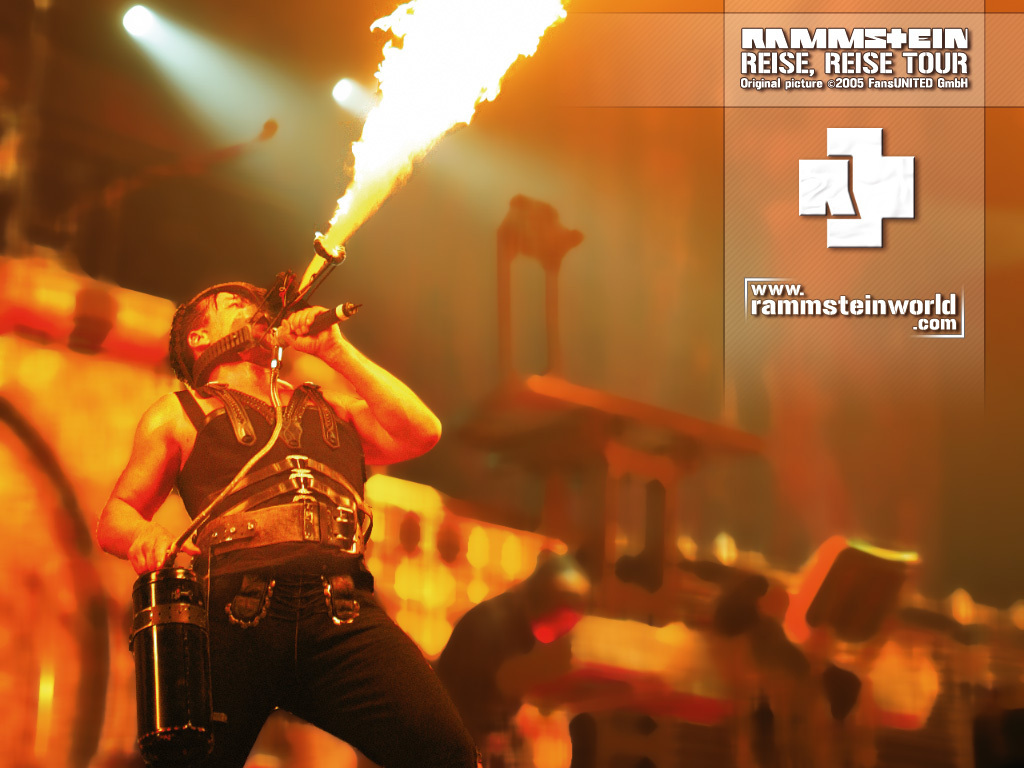 Rammstein Reise Wallpaper