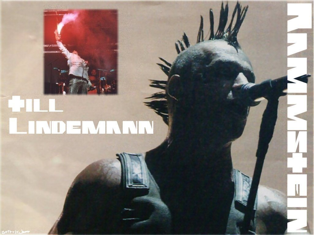 Rammstein Till Lindemann2 Wallpaper