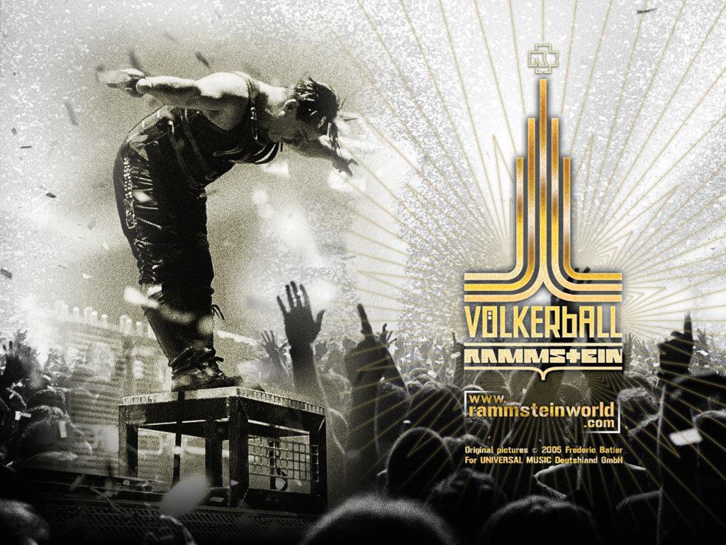 Rammstein Volkerball10 Wallpaper
