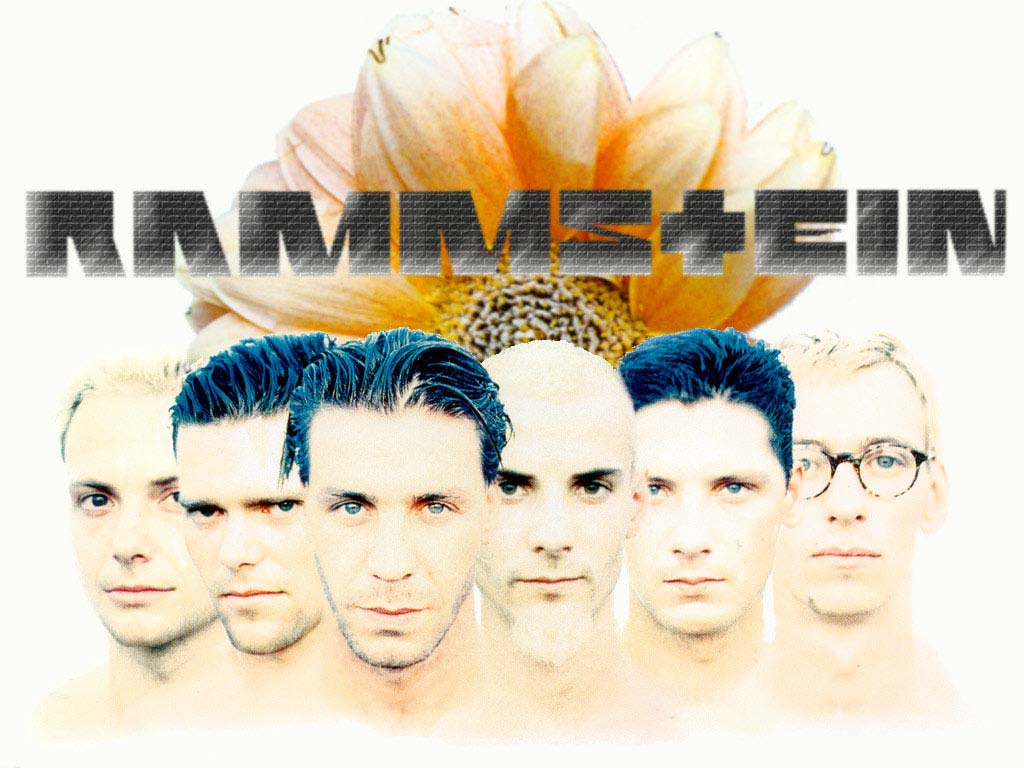 Rammstein White Wallpaper